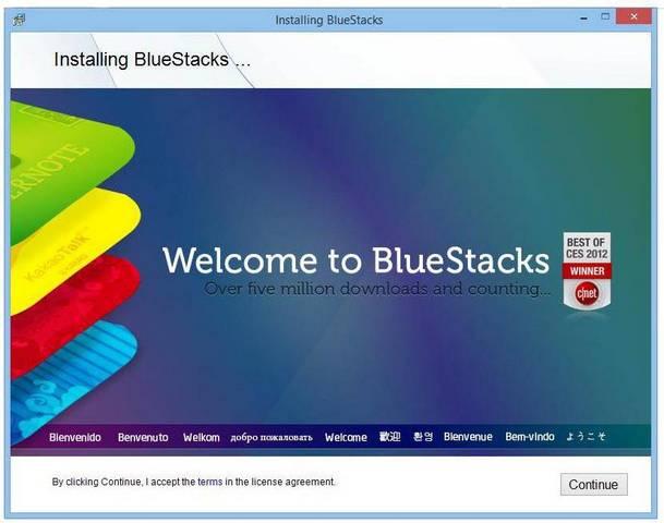 Скачать Bluestacks держи компьютер