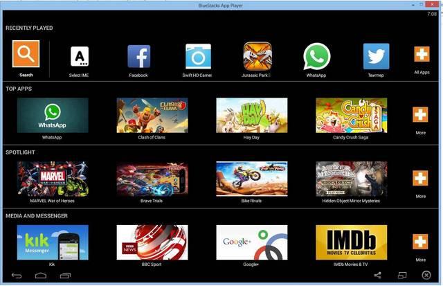 скачать блюстакс на компьютер Windows 7 - фото 4